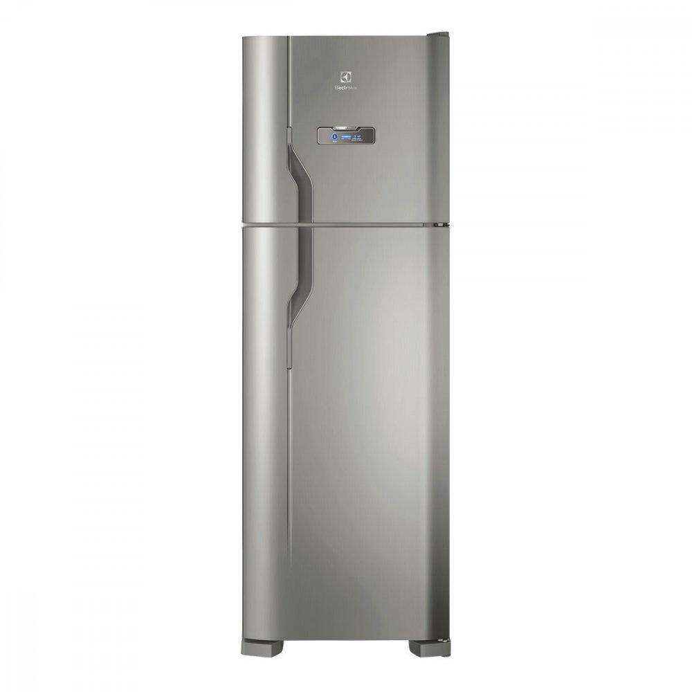 Geladeira Degelo Automático 2 Portas DFX41 371 Litros Inox 110v unidade Electrolux  UN