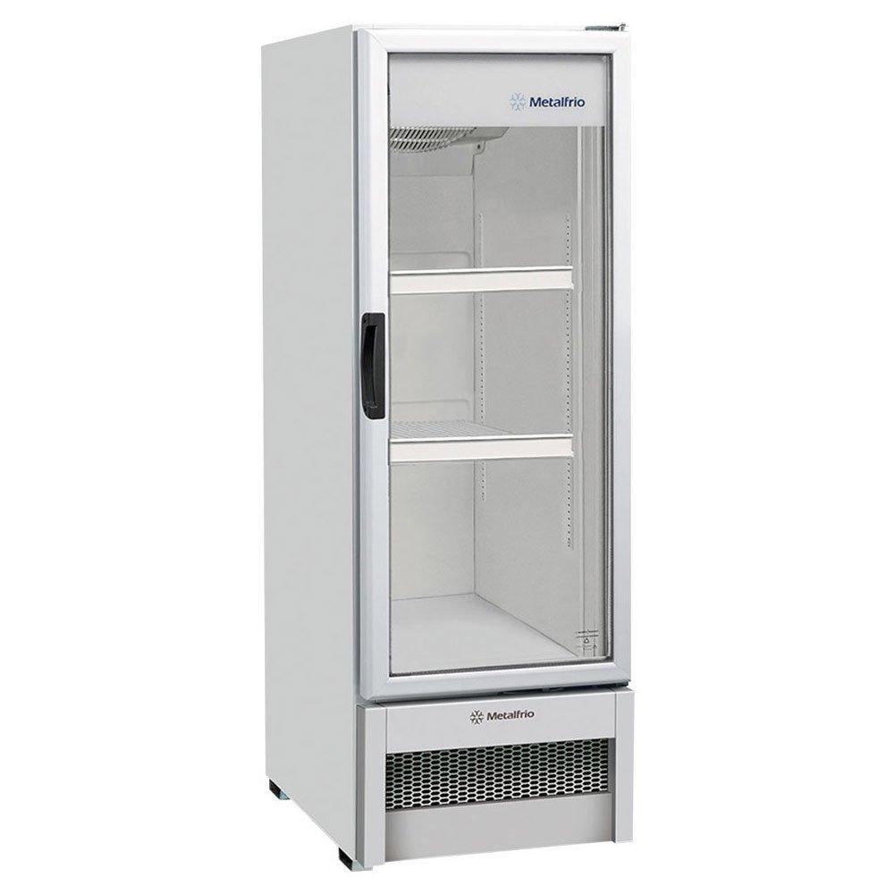 Geladeira Degelo Automático No Frost 1 Porta Soft Drinks VB25RB 276 Litros Branca 220v unidade Metalfrio  UN