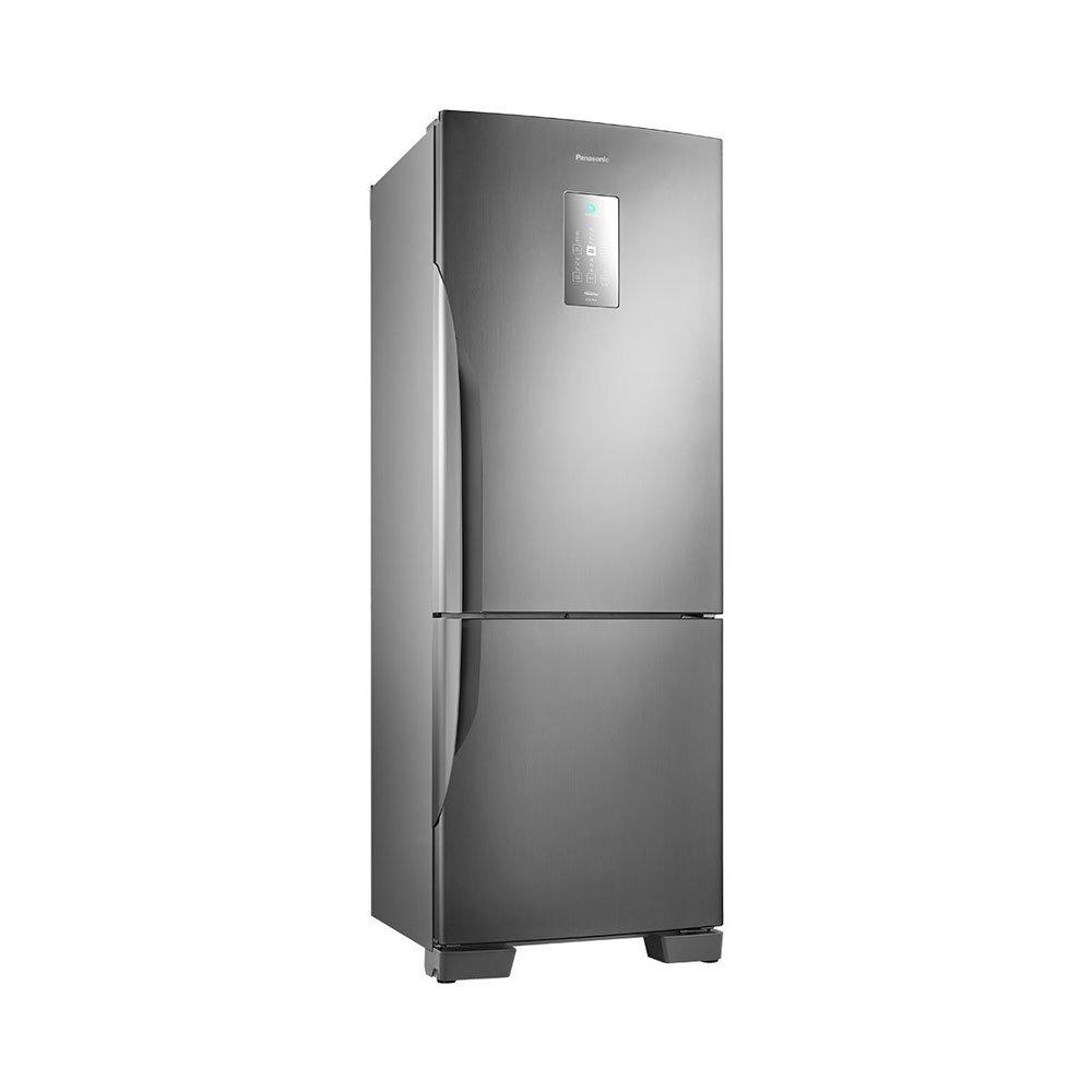 Geladeira Degelo Frost Free Bottom Freezer 2 Portas NR-BB71PVFXB 450 Litros Aço Escovado 220v unidade Panasonic  UN