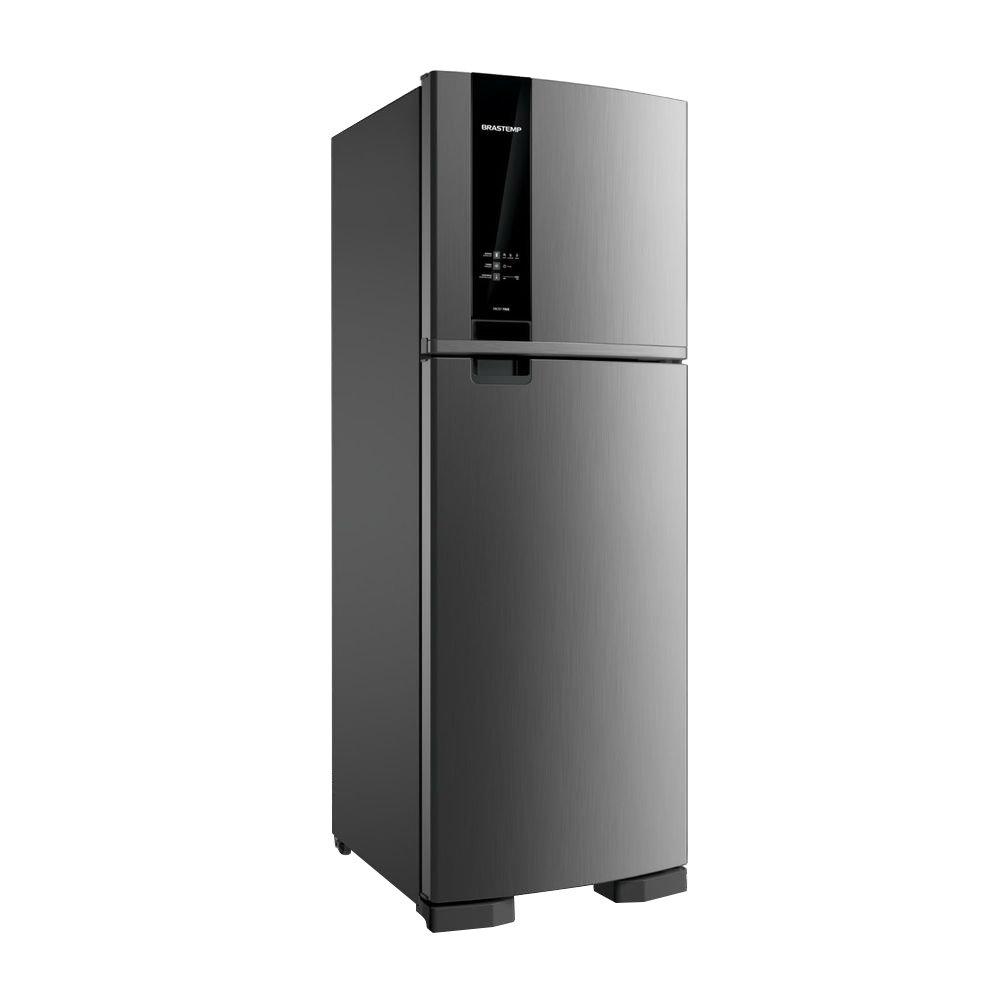 Geladeira Frost Free 2 Portas BRM45HK 375 Litros Inox 220v unidade Brastemp  UN