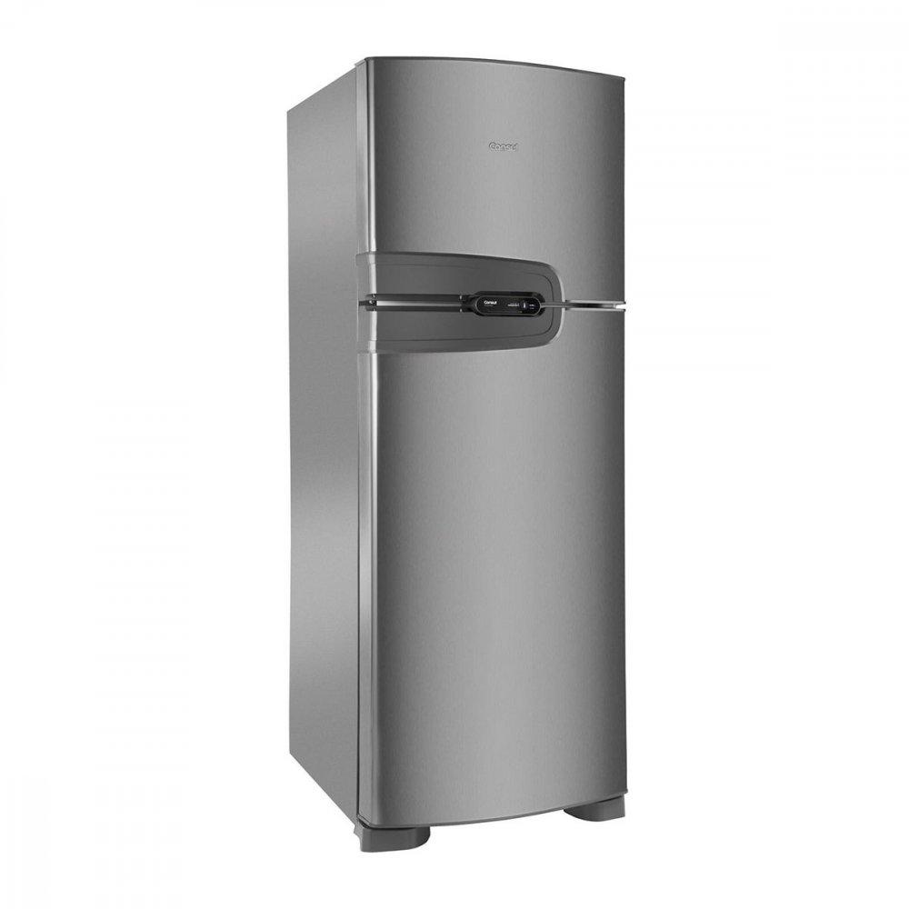 Geladeira Frost Free 2 Portas CRM43NK 386 Litros Inox 110v unidade Consul  UN