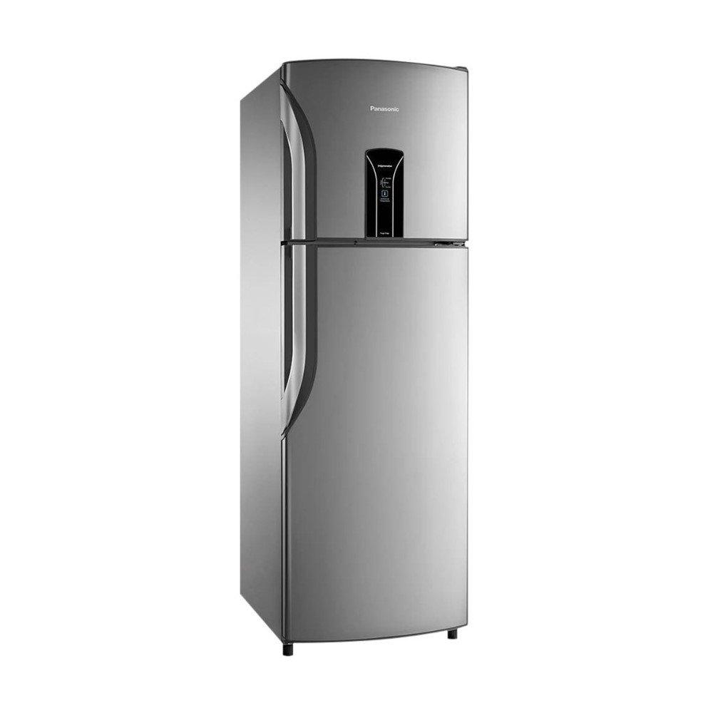 Geladeira Frost Free 2 Portas Regeneration 387 Litros Aço Escovado 220v unidade Panasonic  UN
