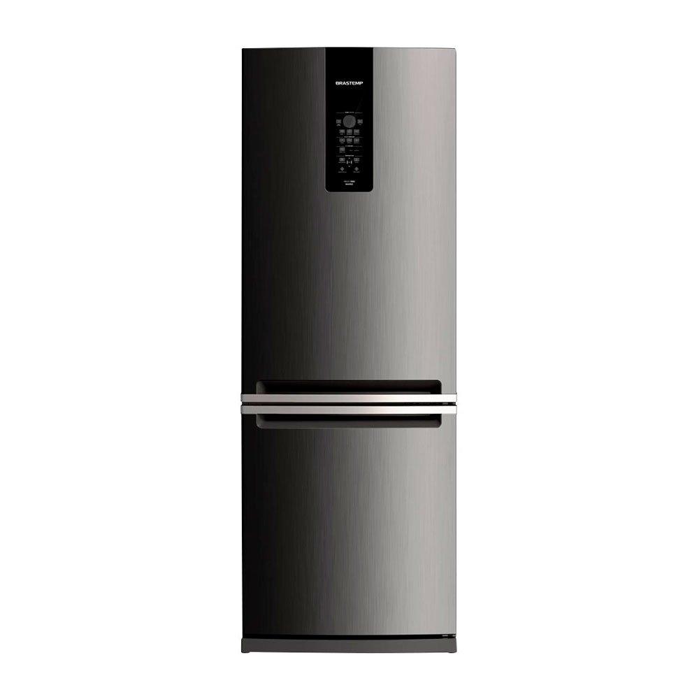 Geladeira Frost Free Inverse 2 Portas BRE59AK 460 Litros Inox 220v unidade Brastemp  UN