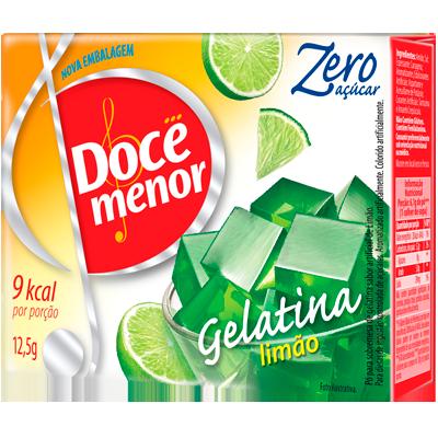 Gelatina sabor limão diet 12,5g Doce Menor  UN