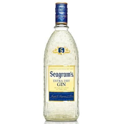 Gin Extra Dry 750ml Seagram's garrafa UN