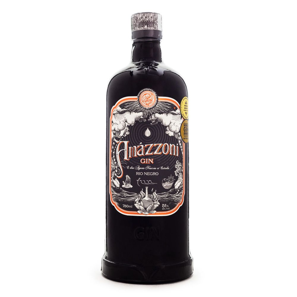 Gin Rio Negro 750ml Amazzoni garrafa UN
