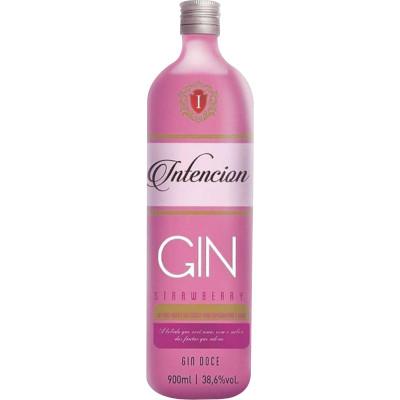 Gin Strawberry 900ml Intencion garrafa UN
