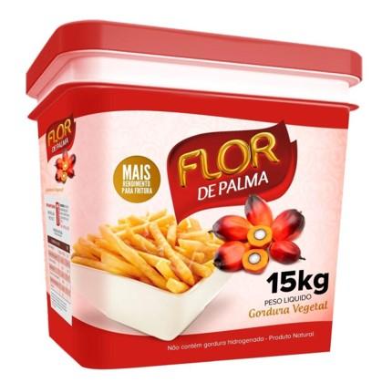 Gordura vegetal de palma 15kg Flor de Palma balde BD