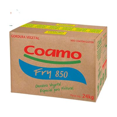 Gordura vegetal em pasta 24kg Coamo Fry caixa UN
