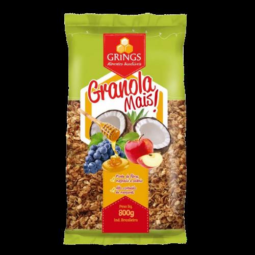 Granola Mais 800g Grings pacote UN