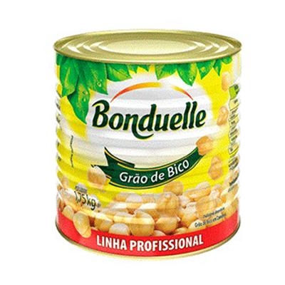 Grão de Bico em Conserva 1,75kg Bonduelle lata UN