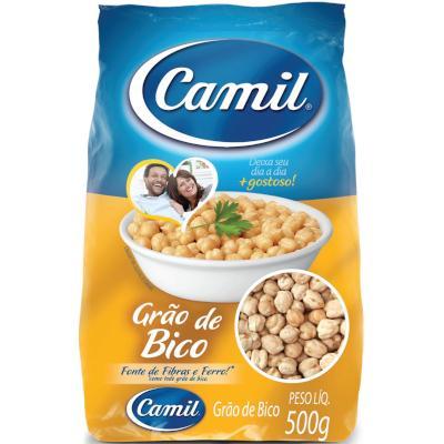 Grão de Bico  500g Camil Food Service pacote PCT