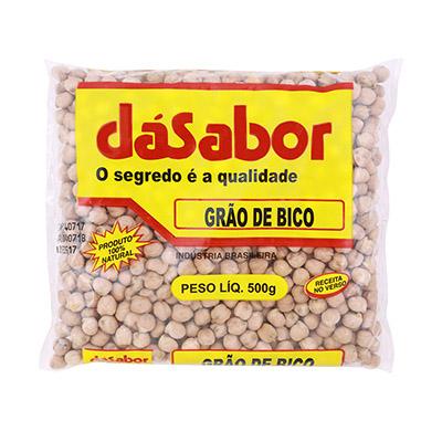 Grão de Bico  500g DáSabor pacote PCT