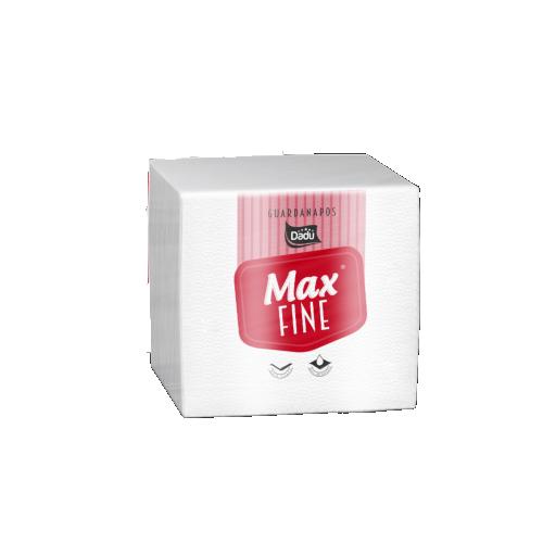 Guardanapo de papel folha simples 22cm x 20cm 100 folhas Dadu/Max Fine pacote PCT