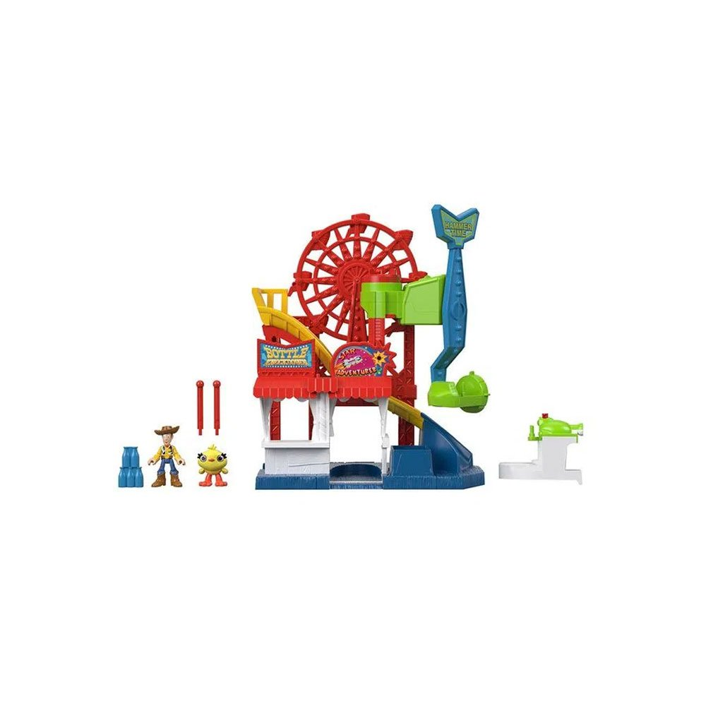 Imaginext Toy Story 4 Parque Divertido Colorido unidade Fisher-Price  UN