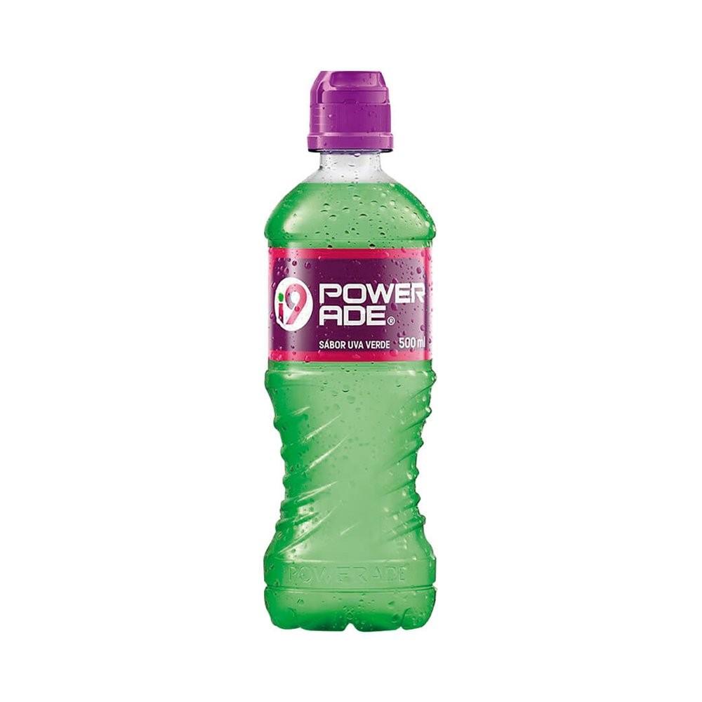 Isotônico sabor Uva Verde  500ml Powerade I9 pet UN