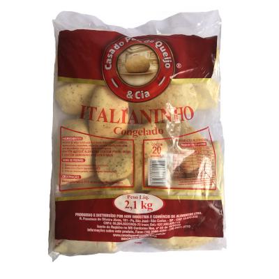 Italianinho Calabresa  20 unidades Casa do Pão de Queijo pacote 2,8kg PCT