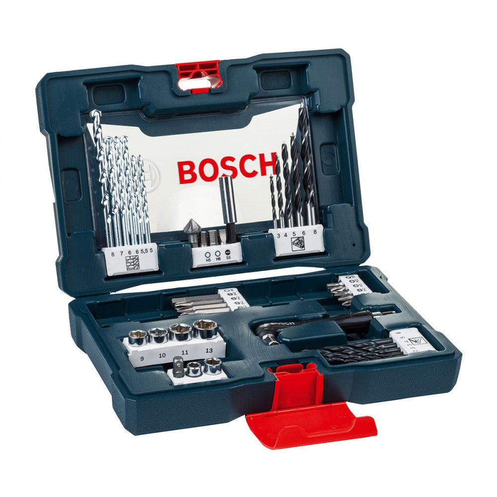 Jogo de Brocas e Bits X-Line 2607017396-000 Azul 41 peças Bosch  UN