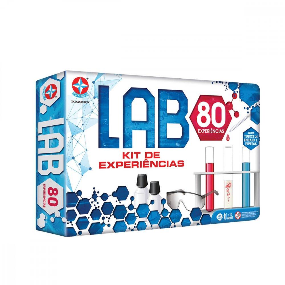Jogo Lab 80 Tipos de Experiências unidade Estrela  UN