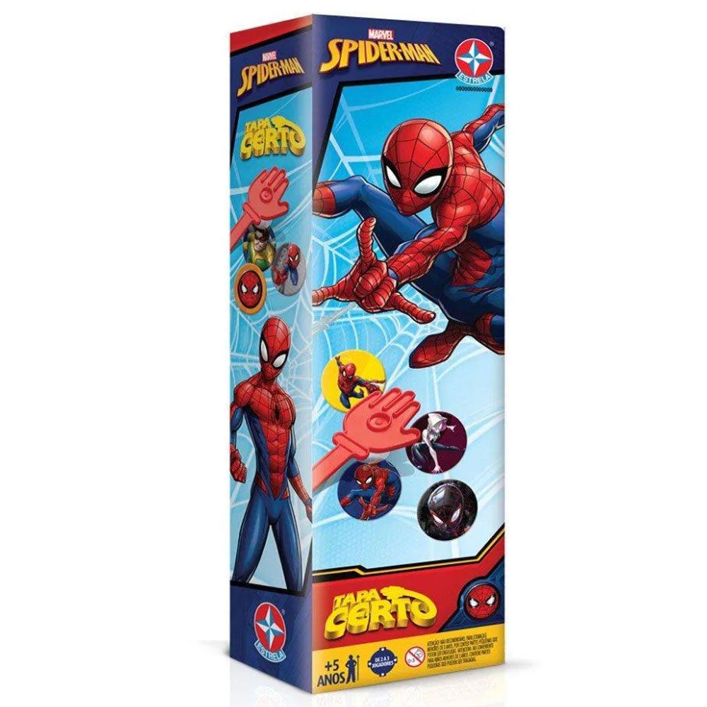 Jogo Tapa Certo Spider-Man unidade Estrela  UN