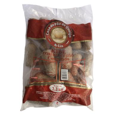 Kibe com Requeijão Frito 20 unidades Casa do Pão de Queijo pacote 2,4kg PCT