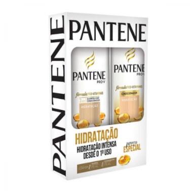 Kit Contém Shampoo 175ml + Condicionador 175ml Hidratação unidade Pantene  UN