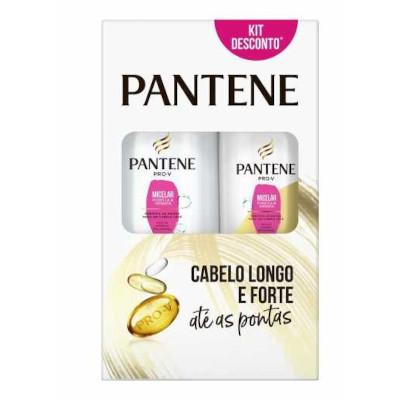Kit Contém Shampoo 175ml e Condicionador 175ml Micelar unidade Pantene caixa UN