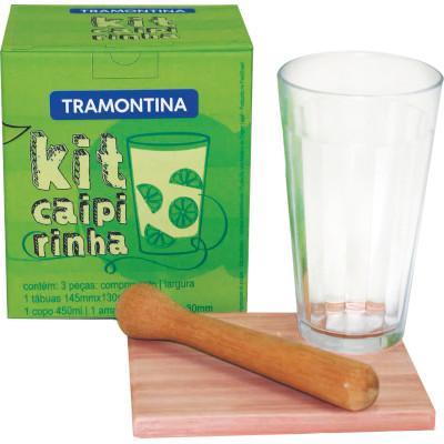 kit  para Caipirinha  3 unidades Tramontina   UN