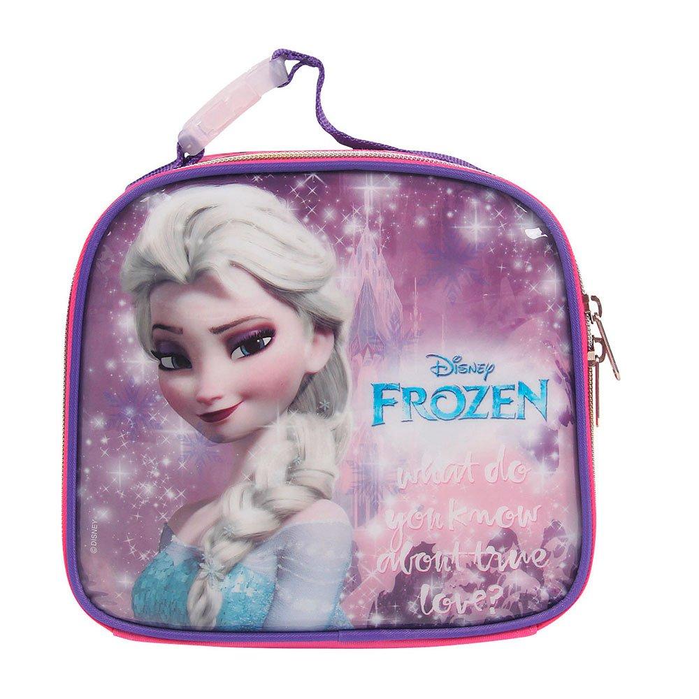 Lancheira Infantil Frozen Elsa Disney 30175 Rosa unidade Dermiwil  UN