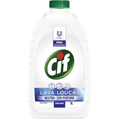 Lava Louça Líquido Neutro 3Litros Cif frasco FR
