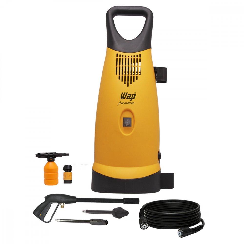 Lavadora de Alta Pressão Uso Profissional Premium 2400 Libras 1900W Mangueira de 7.5m Amarela 110v unidade Wap  UN