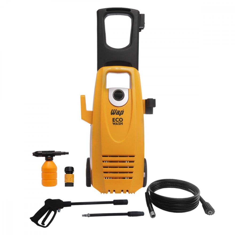 Lavadora de Alta Pressão Uso Residencial Ecowash 1750 Libras 1650W Mangueira de 5m Amarela 110v unidade Wap  UN