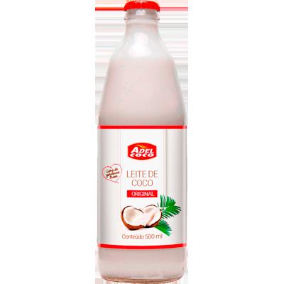 Leite de Coco  500ml Adelcoco garrafa UN