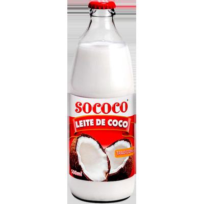 Leite de Coco  500ml Sococo garrafa UN