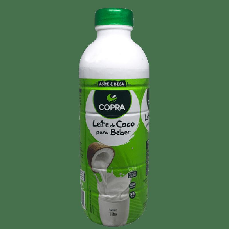 Leite de Coco para beber 900ml Copra garrafa UN