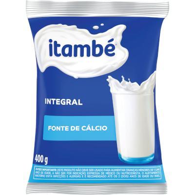 Leite em Pó Integral 400g Itambé pacote PCT