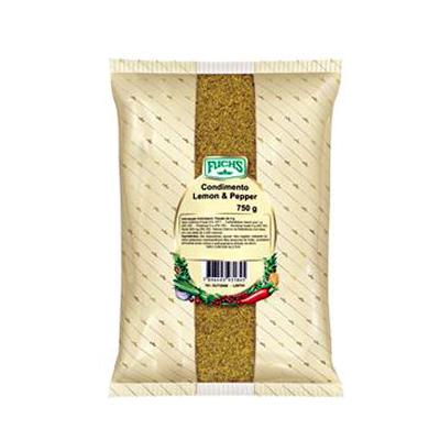 Tempero Lemon Pepper 500g Fuchs pacote UN