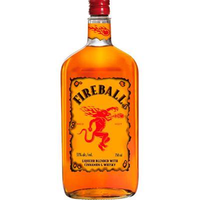 Licor de canela 750ml Fireball garrafa UN