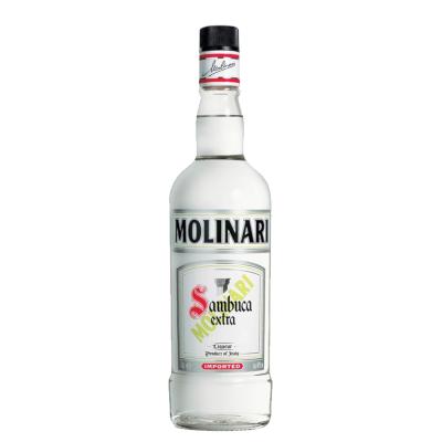 Licor Italiano Molinari Anis 750ml Sambuca garrafa UN