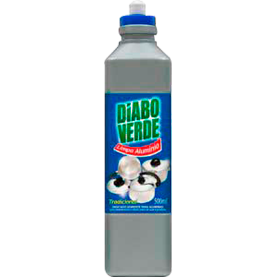Limpa Alumínio  500ml Diabo Verde frasco UN