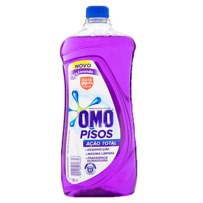 Limpa pisos lavanda 900ml Omo refil UN