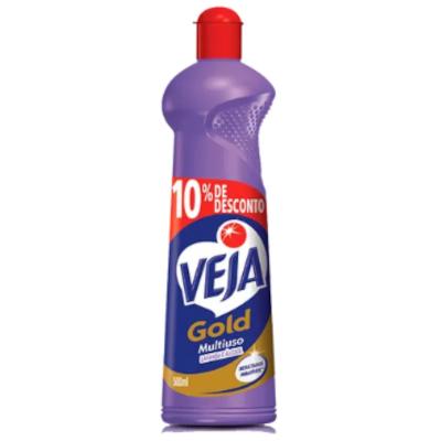Limpador Multiuso Lavanda e Álcool 10% Desconto 500ml Veja/Gold frasco FR