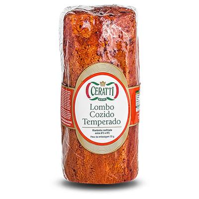 Lombo temperado cozido por kg Ceratti peça KG