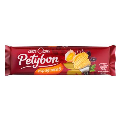 Macarrão Espaguete (8) com Ovos 500g Petybon pacote UN