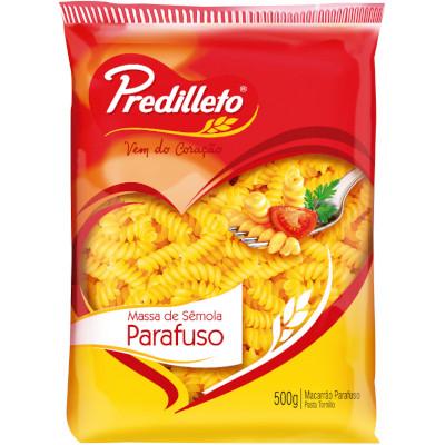 Macarrão Parafuso  500g Predilleto pacote UN