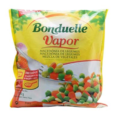 Macedonia de Legumes congelado 750g Bonduelle pacote UN