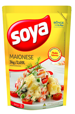 Maionese  3kg Soya bag BAG