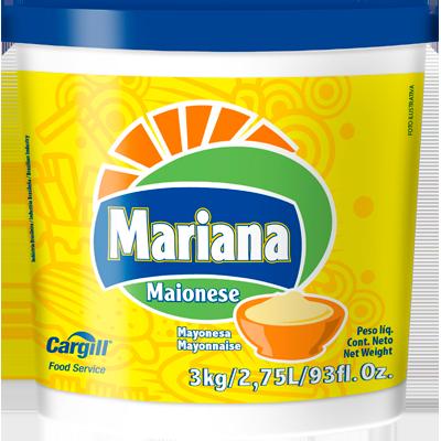 Maionese  3kg Mariana balde BD
