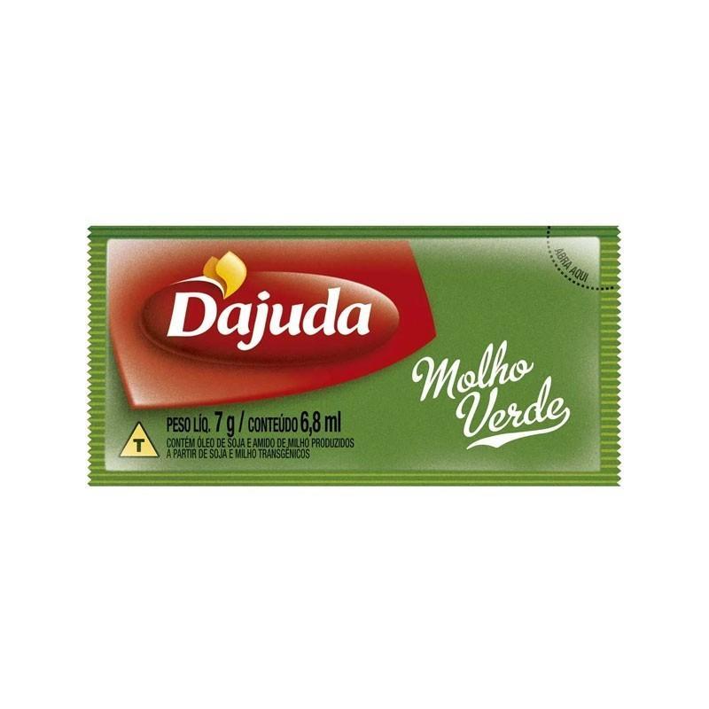 Maionese sabor Ervas Finas 192 unidades de 7g D'ajuda caixa CX
