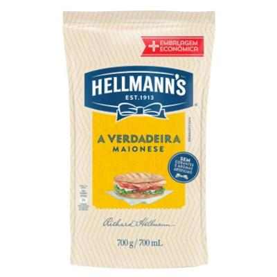 Maionese  700g Hellmann's sachê UN